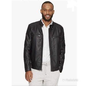 Goodfellow & Co Men's Faux Leather Moto Jacket